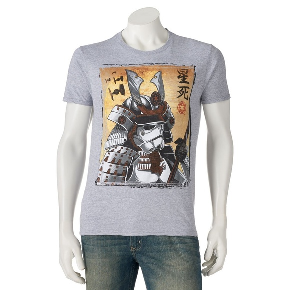 99d8a87c0938 Fifth Sun Shirts | Star Wars Storm Trooper Japanese Samurai Tshirt ...
